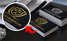 Conheça mais sobre o Cartão de Visita Hot Stamping