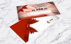 Por que fazer a impressão de cartão Vale-presente Personalizado?