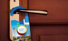 Como utilizar o Não Perturbe personalizado da Gráfica Paulista Cartões?