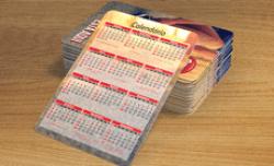 Calendário de Bolso