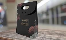 Mini Embalagem para Presente Hot Stamping