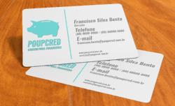 Cartão de Visita em PVC